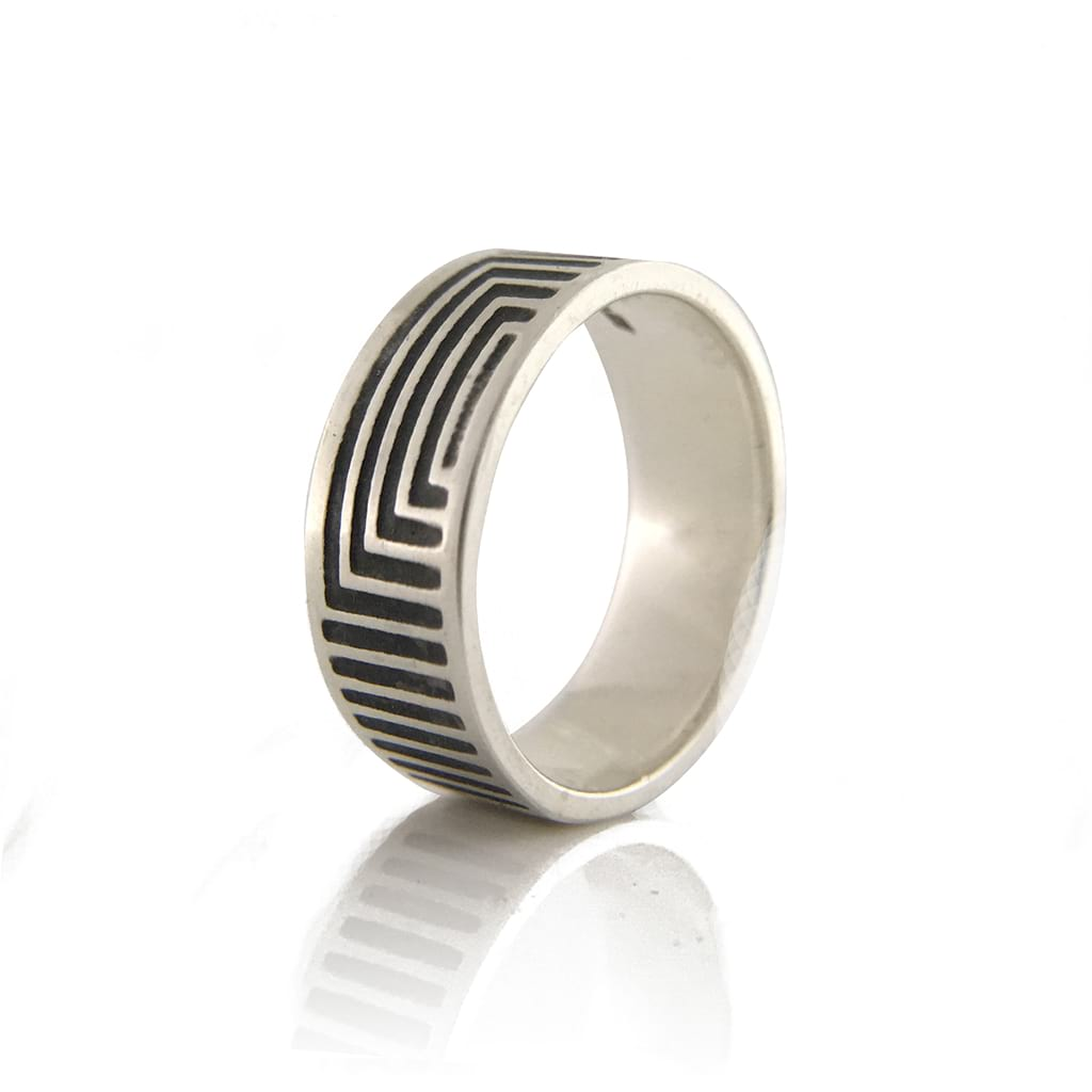 Unisex-Linear-Oxidised-Ring