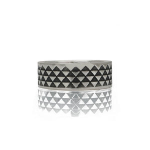 Unisex-Triangle-Design-Ring