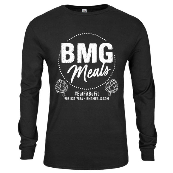 Men's Black Long Sleeve T Shirt
