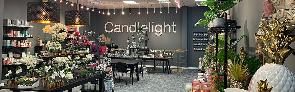 Candlelight Wholesale | Home Page Slider | Plan Your Visit To Our Showroom