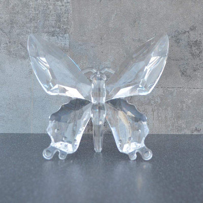 Candlelight Home Animals & Insects Hanging Butterfly Ornament Clear 13.5cm 12PK