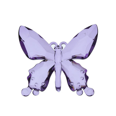 Candlelight Home Animals & Insects Hanging Butterfly Ornament Purple 13.5cm 12PK