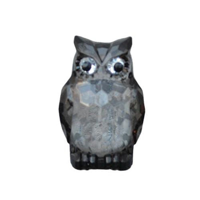 Candlelight Home Animals & Insects Owl Ornament Large Black 8.5cm 6PK