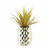 Artificial Plant in Pineapple Pot Gold 24cm 6PK