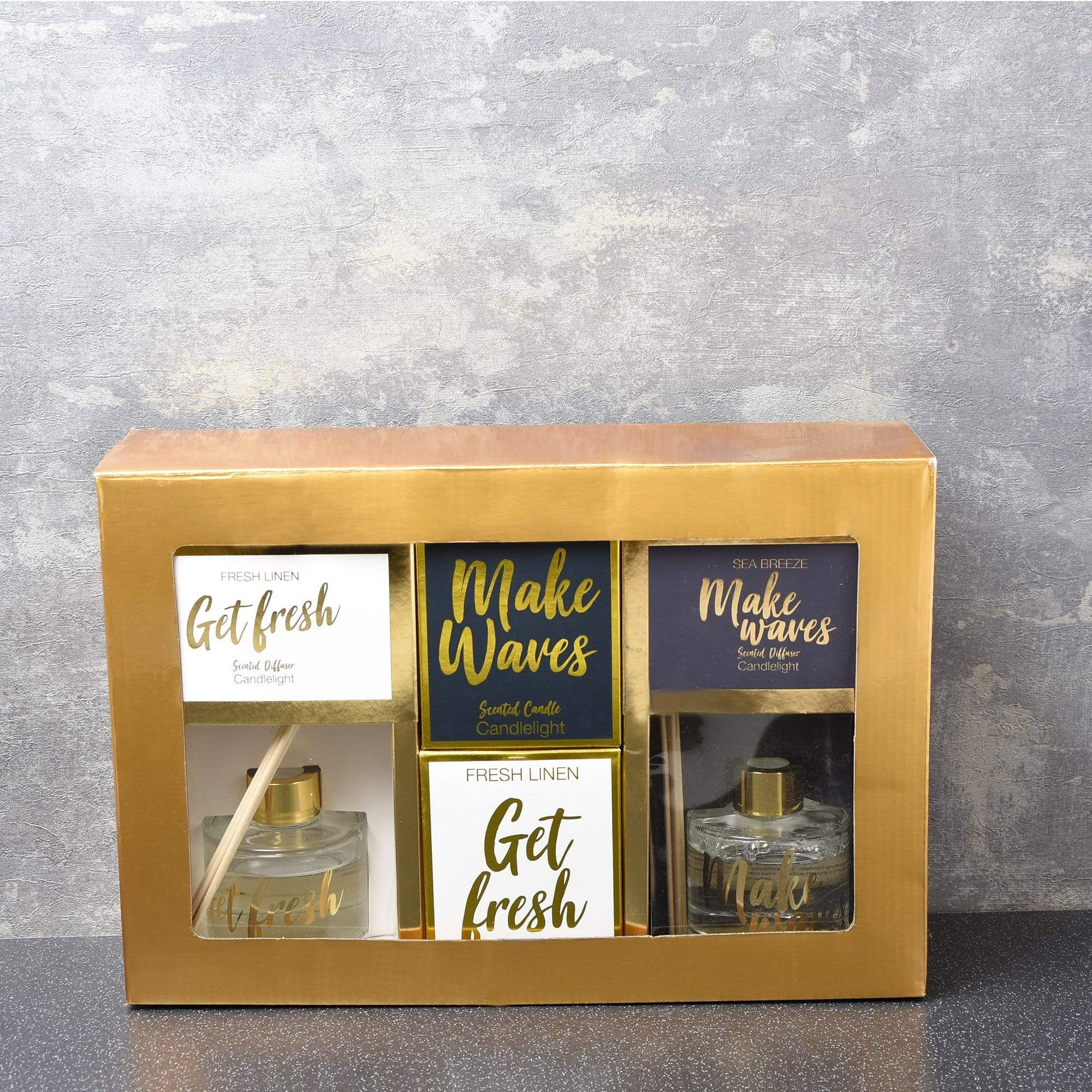 Candlelight Home Boxed Candle 4PC Brights Gift Set Get & Fresh Make Waves in  Gift Box 1PK