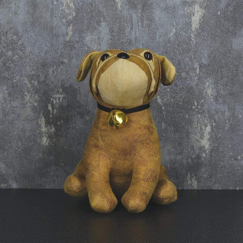 Billy the Bull Dog Door Stopper Brown 26cm 1PK