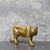 Candlelight Home Figures Standing Tiger Ornament Gold 8cm 4PK