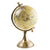 Candlelight Home Globes Small Globe on Metal Stand Cream and Gold 28cm 1PK