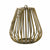 Medium Teardrop Lantern bronze 4PK
