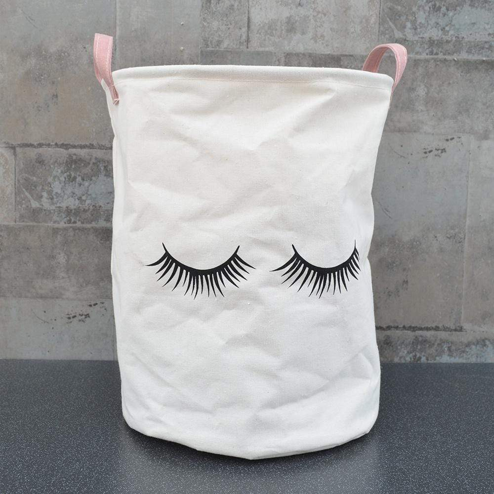 Candlelight Home Laundry Bags Eyelash Laundry Bag Pink 40cm 1PK