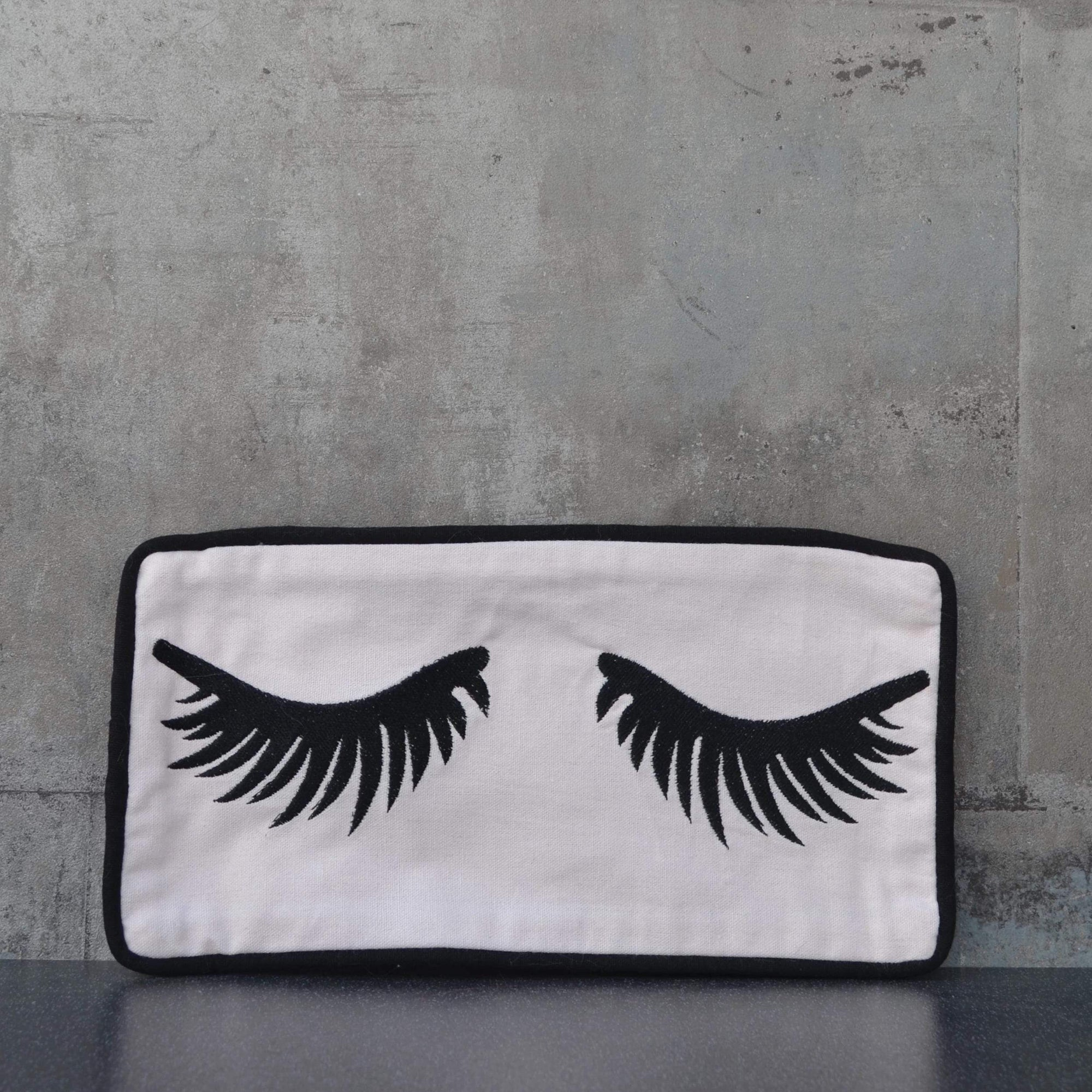 Eyelash Makeup Bag Pink 30cm 12PK