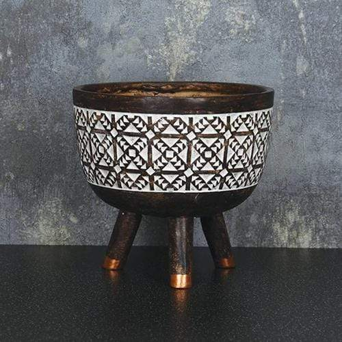 Candlelight Home Planters Planter Brown 13cm 6PK