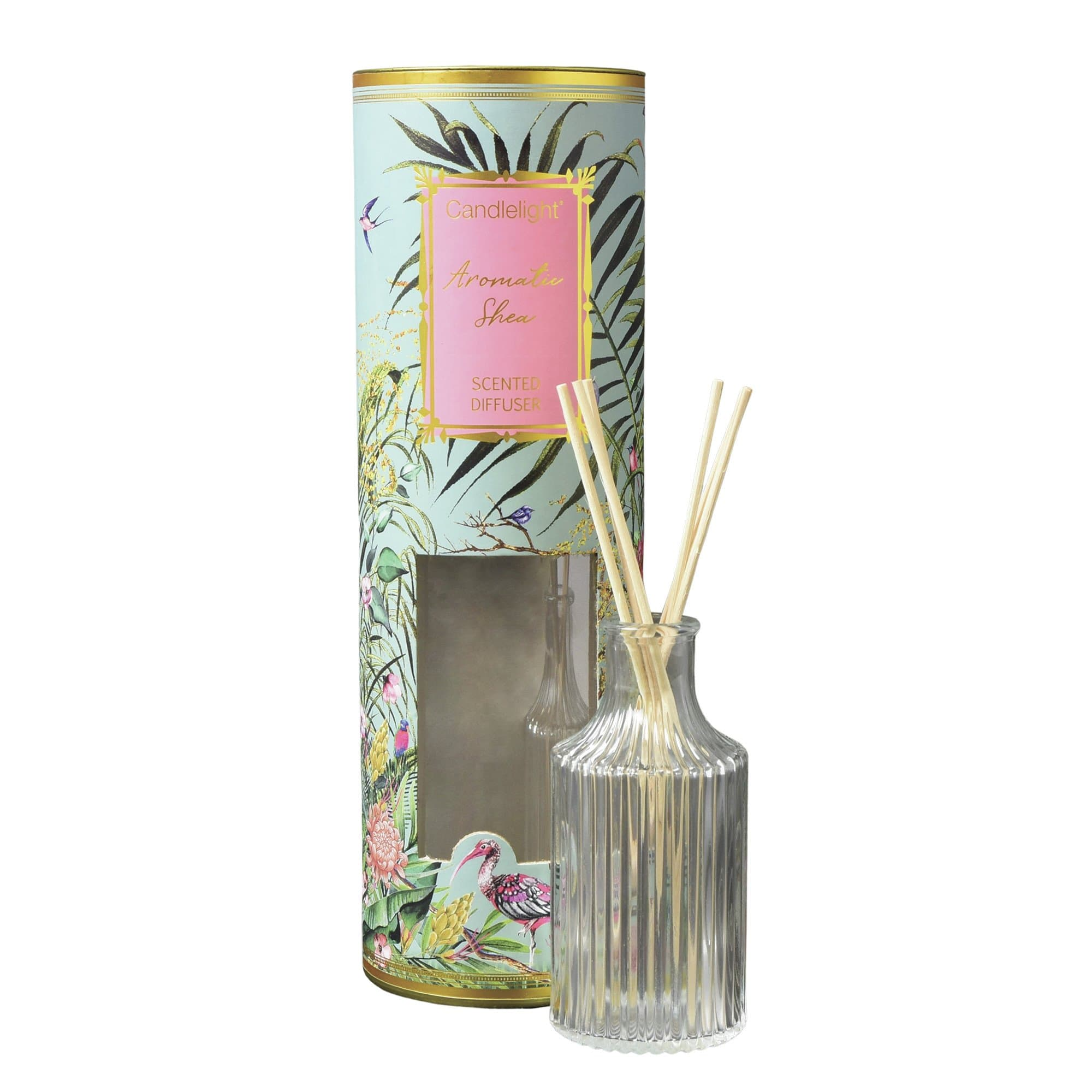 Candlelight Chinoiserie Reed Diffuser Aromatic Shea Scent 150ml 6PK