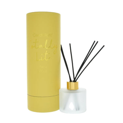Candlelight Home Reed Diffuser Candlelight Totally Lit Reed Diffuser in Gift Box Mimosa Scent 150ml 6PK