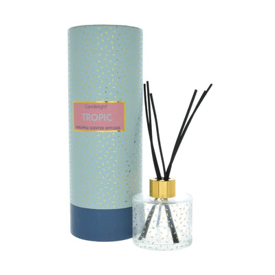 Candlelight Home Reed Diffuser Candlelight Tropic Reed Diffuser in Gift Box Pineapple Scent 150ml 6PK