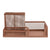 Rose Gold Metal Stationery Holder 20.3 cm 4PK