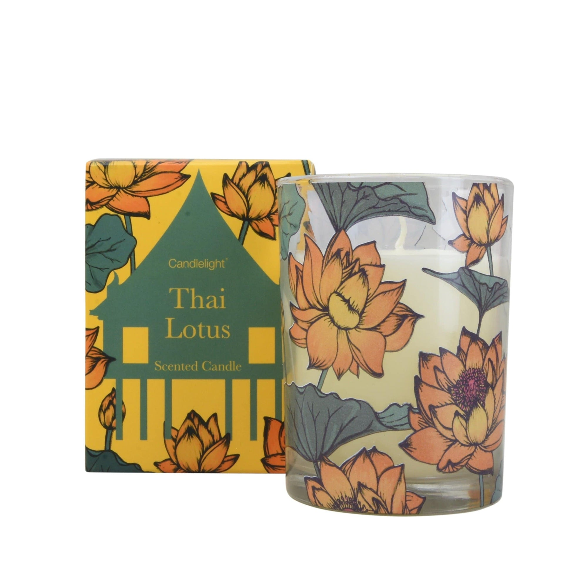 Candlelight Home Thai Locus Boxed Candle