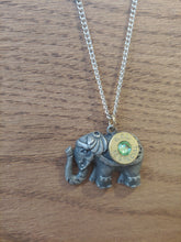 Load image into Gallery viewer, Brass 38spc Bullet Casing with Steam Punk Elephant