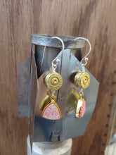 Load image into Gallery viewer, Brass 9mm Bullet Casings with Pink Druzy