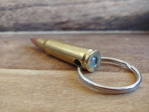 Authentic Inert 308 Caliber Recycled Bullet Key Chain