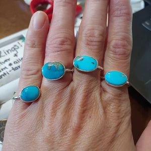 American Turquoise and Sterling Silver