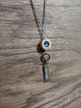 "Load image into Gallery viewer, Brass .308 Bullet Casing & ""Dream"" Charms"