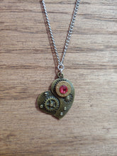 Load image into Gallery viewer, Brass .300 Bullet Casing with Steam Punk Heart