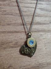 Load image into Gallery viewer, Brass .45ACP Bullet Casing with Steam Punk Heart