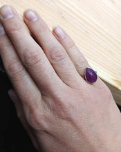 Load image into Gallery viewer, Pink Sapphire Sterling Silver/ Argentium Ring