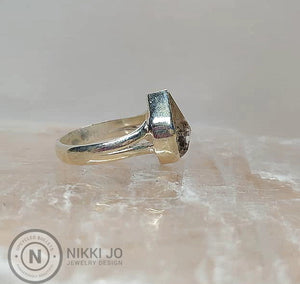 Herkimer Diamon Ring