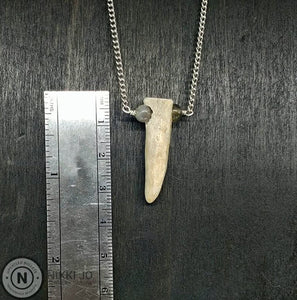 Deer Antler Tip Necklace
