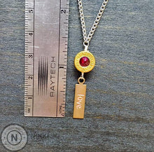 Load image into Gallery viewer, 9mm Bullet Casing & Love Charms