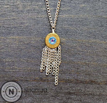 Load image into Gallery viewer, 9mm Bullet Casing & Chain Tassel