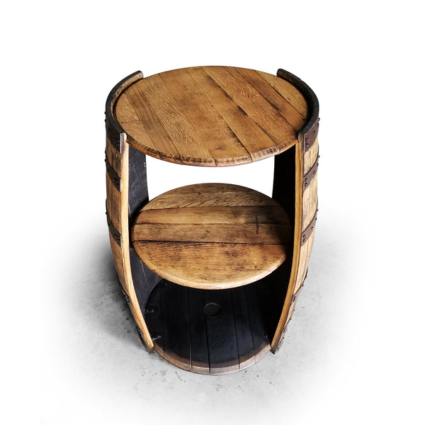 Whiskey Barrel - SPLIT BARREL CABINET