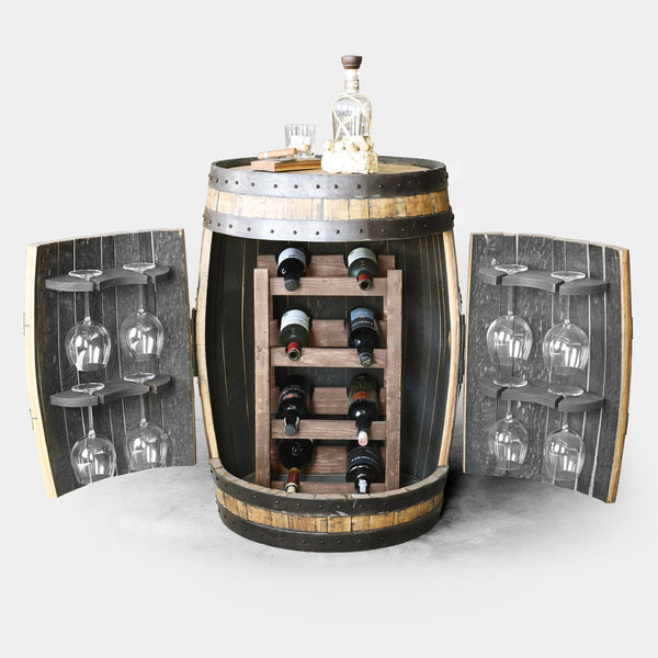 Whiskey Barrel - Barrel Wine Rack