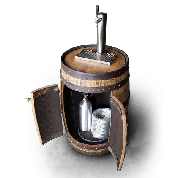 Whiskey Barrel - Beer Tap Barrel