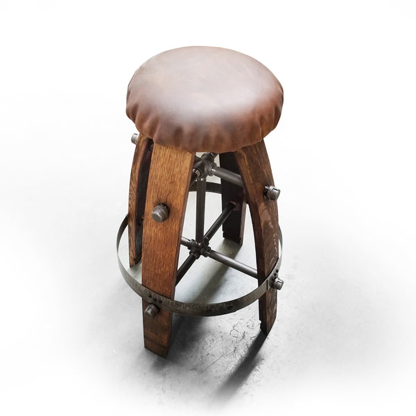Napa Valley Wine Bar Stool - Chair - Seat - Mancave - Bar - Stool