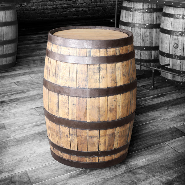 Whiskey Barrel - Whole Barrel (Restored and Oiled)