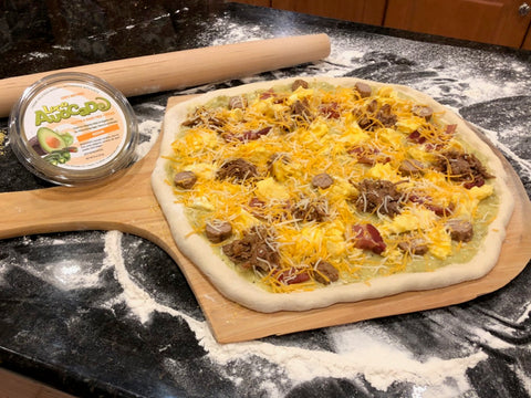 Loco A Breakfast Pizza Ready to Bake