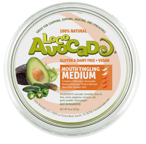 Loco Avocado Mouth Tinglin' Medium