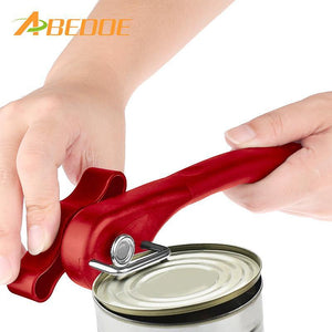 Effortless Metal Can Opener with Turn Knob