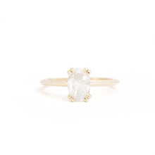 Load image into Gallery viewer, Teresa's Salt and Pepper Canadian Diamond Custom Engagement Ring