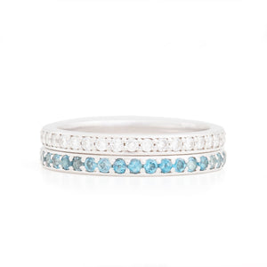 Birthstone Eternity Bands