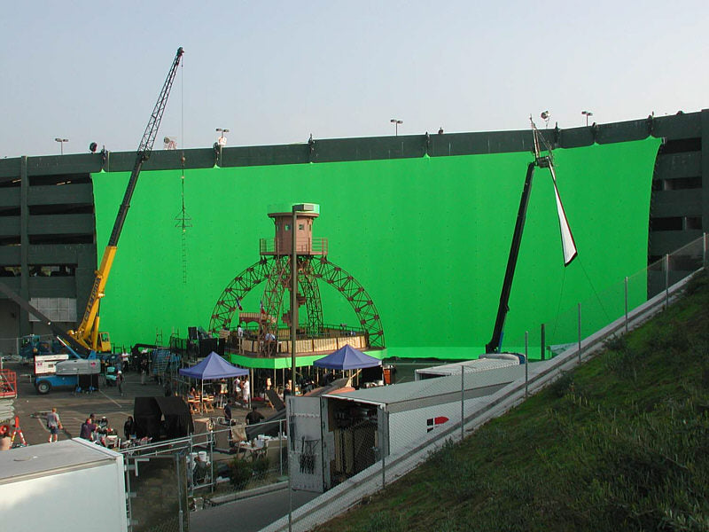 Looney Tunes big green screen
