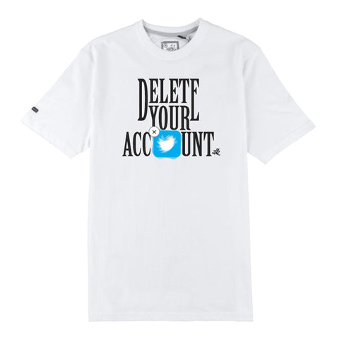 Delete Your Account SS Tee