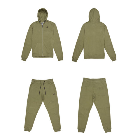 Runner Sweatsuit (Burnt Olive)