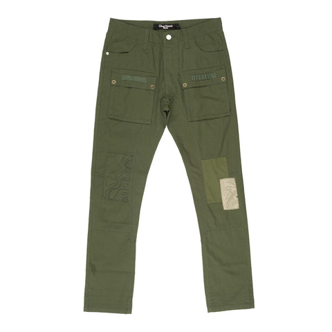 Big Voice Cargo Pants (Rifle Green)