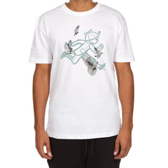 Running Sings SS Tee (White)