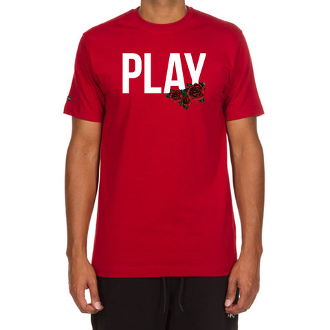 Rose Play SS Tee (Chili Pepper)