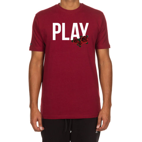 Rose Play SS Tee (Cordovan)